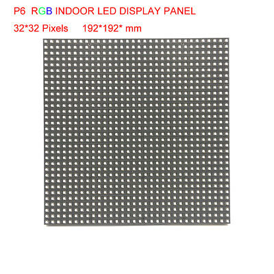 P6 Led Module Display Module 3528SMD 3in1 Indoor HD 32*32 Pixels RGB Full Color