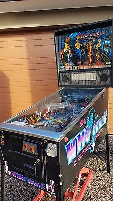 Who Dunnit Pinball Machine by Bally Williams