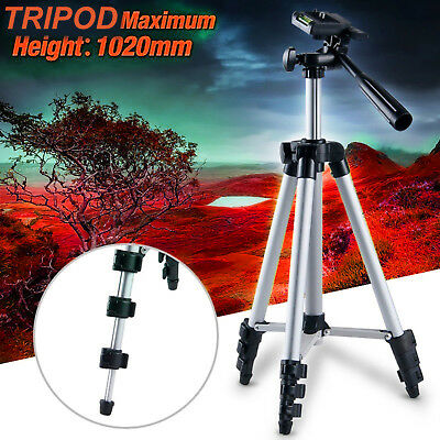 Professional Tripod Stand for DSLR Canon Nikon Sony Camera Camcorder Lightweight