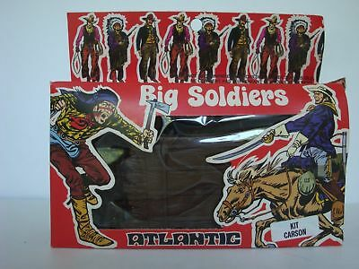 Atlantic BS-02 / 1/32 Scale Kit Carson / Mint in HTF Big Soldiers Pa