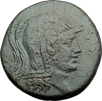 AMISOS in PONTUS MITHRADATES VI the GREAT Time Perseus Medusa Greek Coin i64517