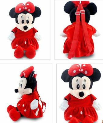 Minnie Kids Baby Boys Girls Backpacks Cartoon Pre-primary School Bag