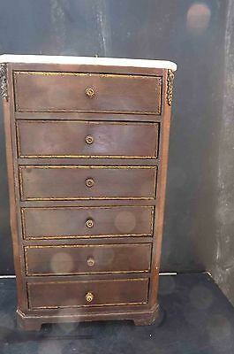French kingwood minuture chest of drawers