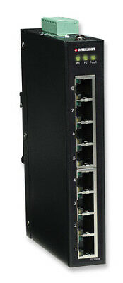 I-Swhub Ind-099 Fast Ethernet Switch Industriale 8 Porte Slim Ies-1080A