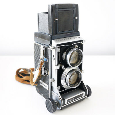 Mamiya C33 Professional TLR Camera w/ Sekor 80mm f2.8 Lens - Service Recommended