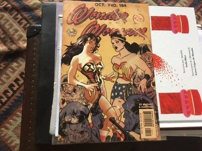 WONDER WOMAN 184 Adam Hughes Vintage Classic Covers Comics Movie Gal Gadot NM
