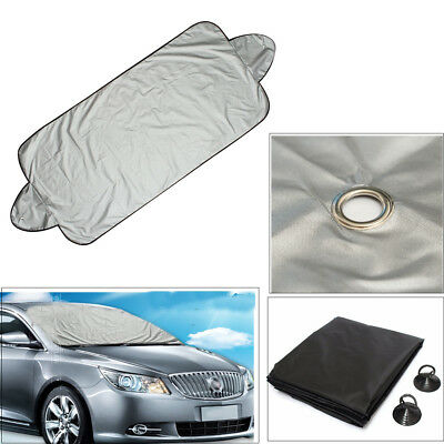 Universal Car Van Frost Windscreen Cover Protector Screen Snow Winter Protection