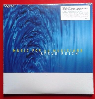 "Steve Reich Music for 18 Musicians 2 x 12"" LP RSD 2015 New Sealed Numbered Ltd"