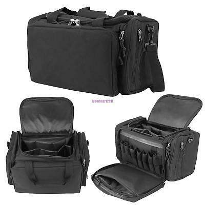Ultimate Tactical Deluxe Range Duffle Bag Padded Polyester Pistol Gun Ammo SWAT