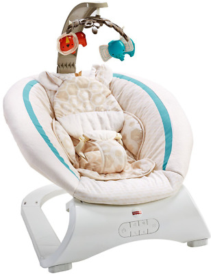 Fisher-Price Deluxe Bouncer-Soothing Savanna