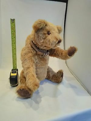 mohair, fully jointed, hump backed teddy