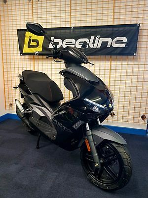 2017 Beeline Pista 50CC BLACK EDITION SCOOTER MOPED LEARNER LEGAL SPORTS (NEW)