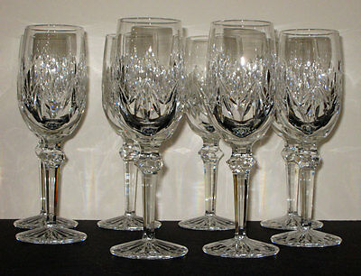 8 waterford KIMBERLY FLUTES - NEW - Ireland