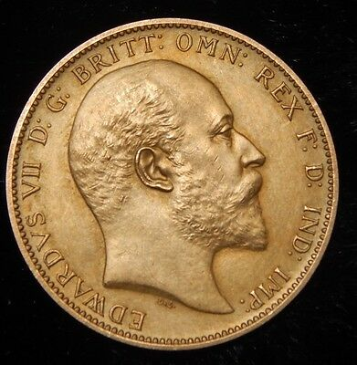 1902 Edward VII matt proof sovereign