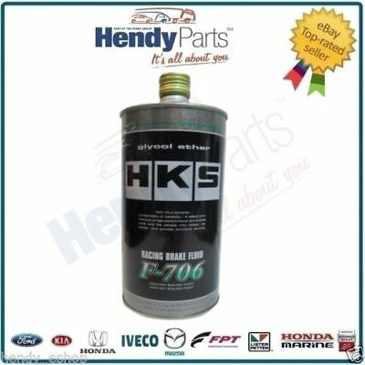 New HKS Racing Brake Fluid F-706 1 Litre 100% GLYCO ETHER 52003-AK001