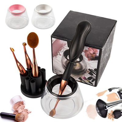 Stylpro Makeup Brush Cleaner Washing Scrubber Auto Cleaning Dry out Hand Tool
