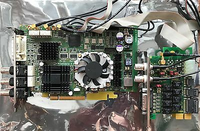 DVS Centaurus PCIe Video Board icl. BOBIF2 (daughter board)