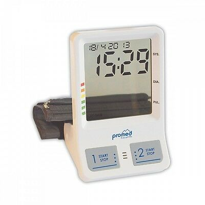 ProMed Upper Arm Blood Pressure Monitor pbw-5.2 Large Display with Alarm