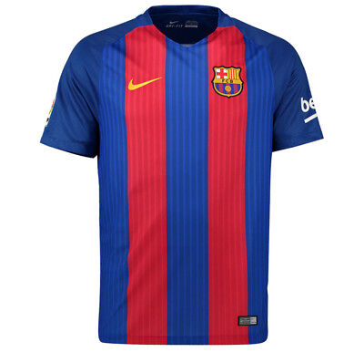 Barcelona Mens Nike 2016/17 Home Shirt 'MESSI 10' (XL)