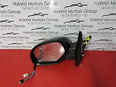 Left Rear View Mirror Heated Gm 25831236