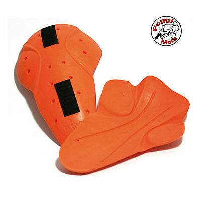 Rokker D30 Knee Protector Set, Orange - Ce Certified