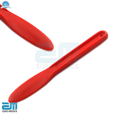 Plastic Red Mixing Spatula Modelling Restorative Surgical Material Alginate Tool