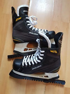 bauer supreme iceskates with skate guard size 9.5