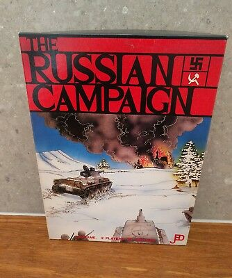 The Russian Campaign - Jedko Games - Strategy Wargame Boardgame