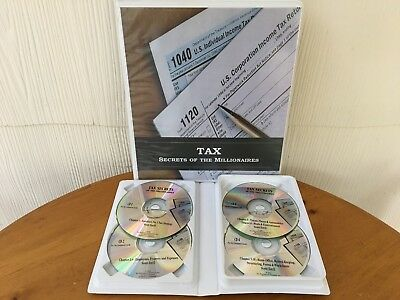 TAX SECRETS OF THE MILLIONAIRES By Scott Estill - MANUAL & 4 CD PACKAGE!