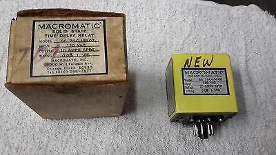 Macromatic  Model SS 78-C-196-02 Time Delay Relay