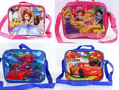 Insulated Lunch Pack Bag With Shoulder Strap Kids Boys Girls School Bag DEFECT