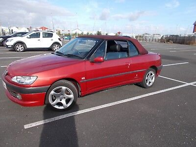 Peugeot 306 Cabriolet 02 Ready To Drive Away Long Mot Pas All Works