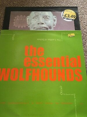 "The Wolfhounds Vinyl Records Album And 12"" Single"