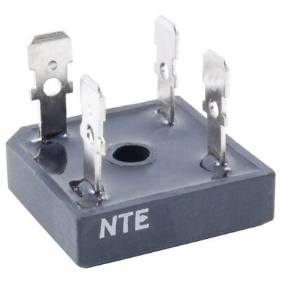 NTE Electronics NTE53016 Silicon Bridge Rectifier, Full Wave, Single Phase, Low