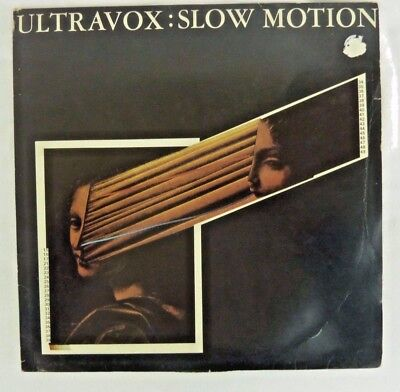 "Ultravox : Slow Motion  12"" Clear Vinyl Single                              #gl#"