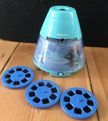 Philips Disney Frozen Childrens Night Light and Projector Vgc Free Postage