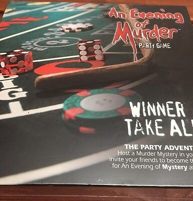 An Evening Of murder Party Game  Murder Mystery Age 21 +