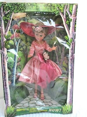 """STORE DISPLAY..1958..24""""..LOVELY LOUISE..DOLL..in ORIGINAL BOX"""