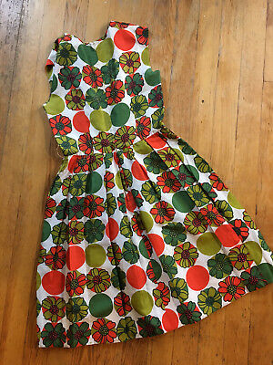 Vintage 1960's Silk Cocktail Dress size 10