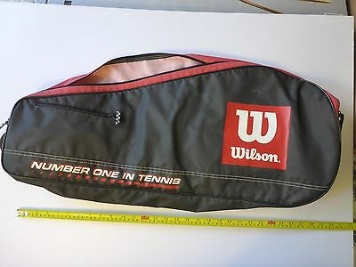 Wilson Tennis Raquet Cover, Large, Used
