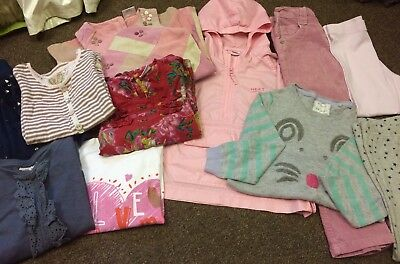 Little Girl Clothing Bundle 4-5 Years x11 Pieces Immaculate Condition Next