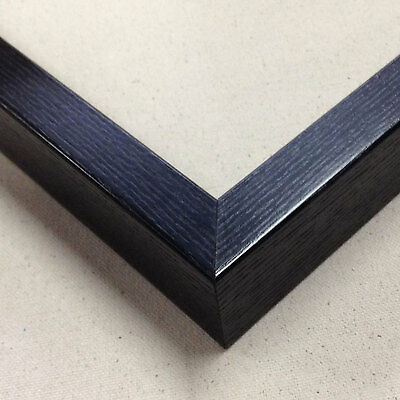 "24""X30"" 1Set Grained Wooden Custom Picture Frames wiith Black Colour [FS-12430]"