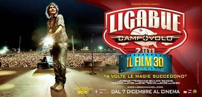 35mm LIGABUE CAMPOVOLO IL FILM 3D FILM/MOVIE/PELLICOLA/FLAT/TRAILER/TEASER/BANDE