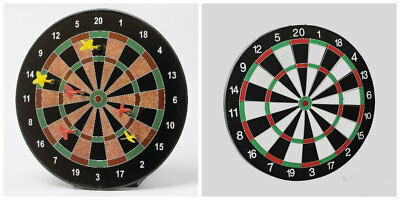 Magnetic Dart Board Dartboard 6 Darts Party Game Toy Playset Kids Childrens Gift
