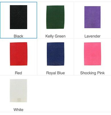 """Stiffened or Soft Glimmer Felt Sheet Various Colors 9x12"""" Free Shipping!"""