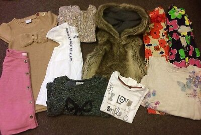 Little Girl Clothing Bundle 4-5 Years x10 Pieces Immaculate Condition Next