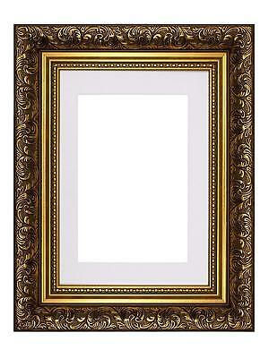Ornate Swept Antique Style Picture Photo Frames With Mount French  Style