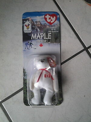 "Mc Donalds/Ty Collect Serie ""Maple the Bear ""in Blisterpackung"