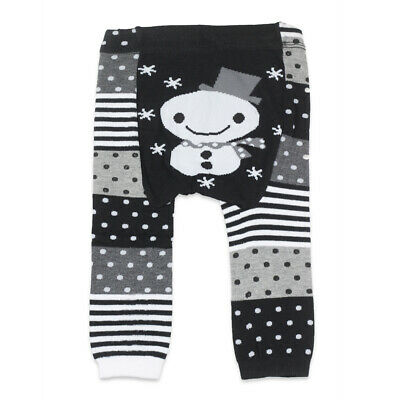 *DISCONTINUED* Dotty Fish Knitted Baby & Toddler Leggings - Small-Medium-Large