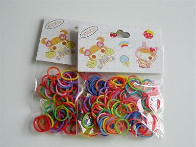 100X PetHair Bows Rubber Bands/Clips Cute Bowknot Dog Hair Bows Grooming Product